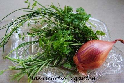 herb and shallot butter
