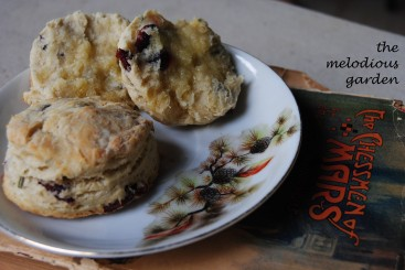 rosemary and cranberry biscuits